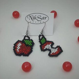 Kolczyki owoce (Jabłka)
