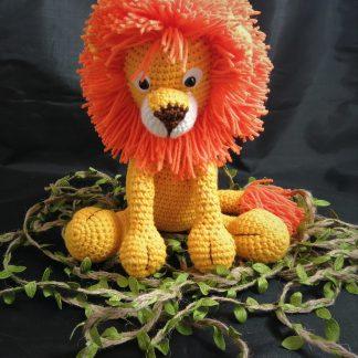 Maskotka lew