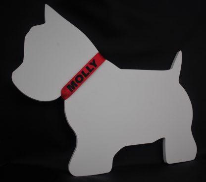 Dekoracja pies West Highland white terrier