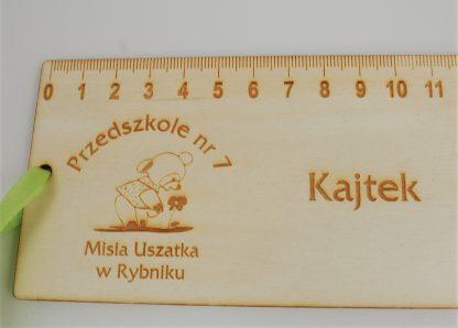 Personalizowana linijka, zakładka