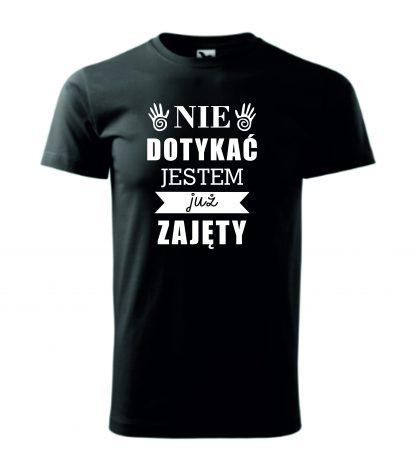 Koszulka nie dotykać