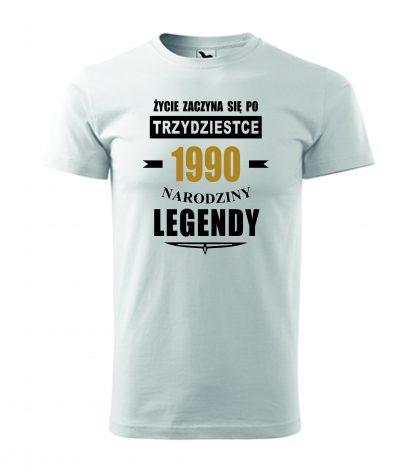 Koszulka urodzinowa 30 lat