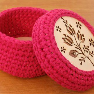 Koszyczek różowy