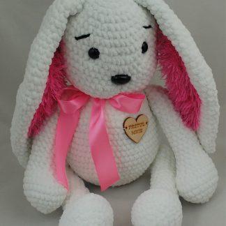 Biały króliczek
