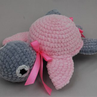 Różowy żółwik